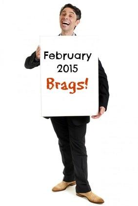 February 2015 brags | Follow @rachelrofe for more :)