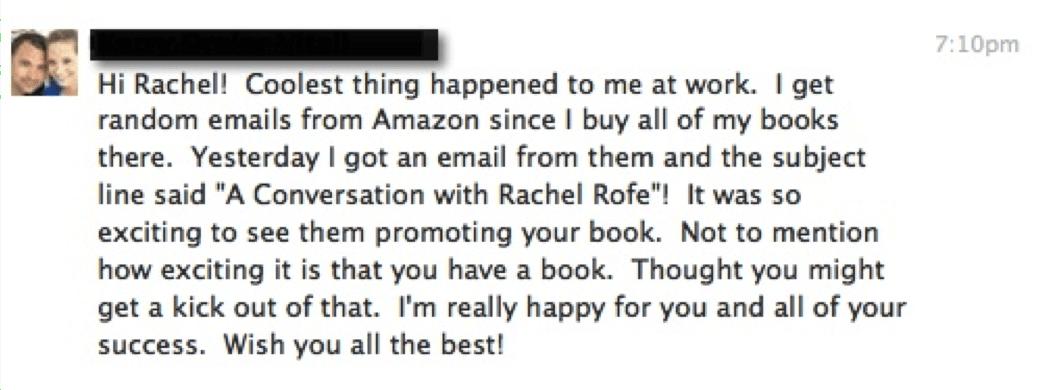 RachelRofeBestseller