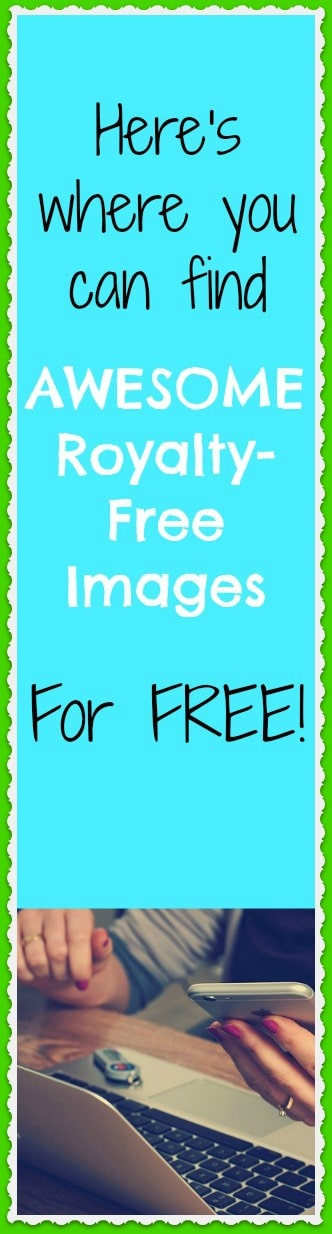 Here's where you can find awesome royalty-free images for free