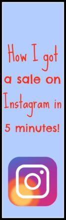 sale on Instagram