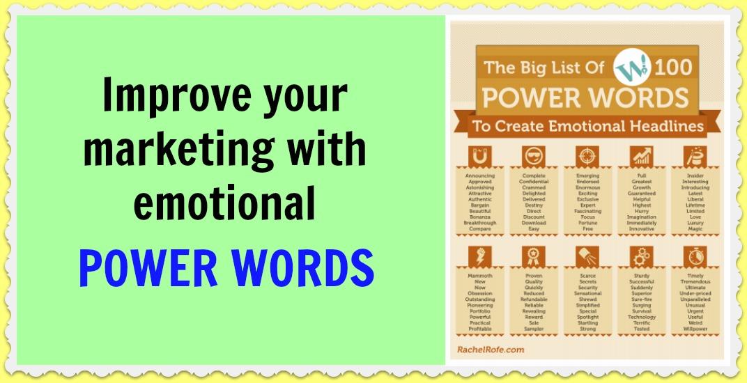 Emotional Words Advertising Examples Marketing — Rachel R...