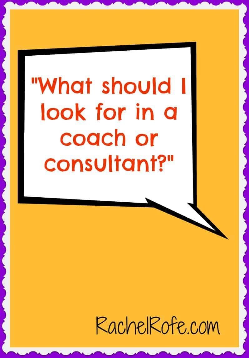 Want to hire a coach or consultant but don't know how to get started? This post helps!