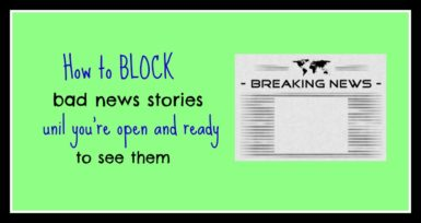 Block news stories