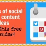 31 days of social media content ideas (grab this free calendar!)