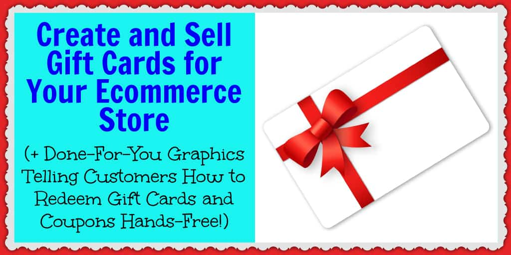 Discover how to create and sell gift cards for your ecommerce store.