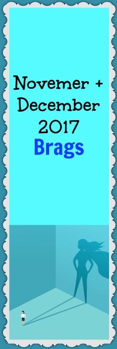 November and December brags