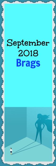 September brags