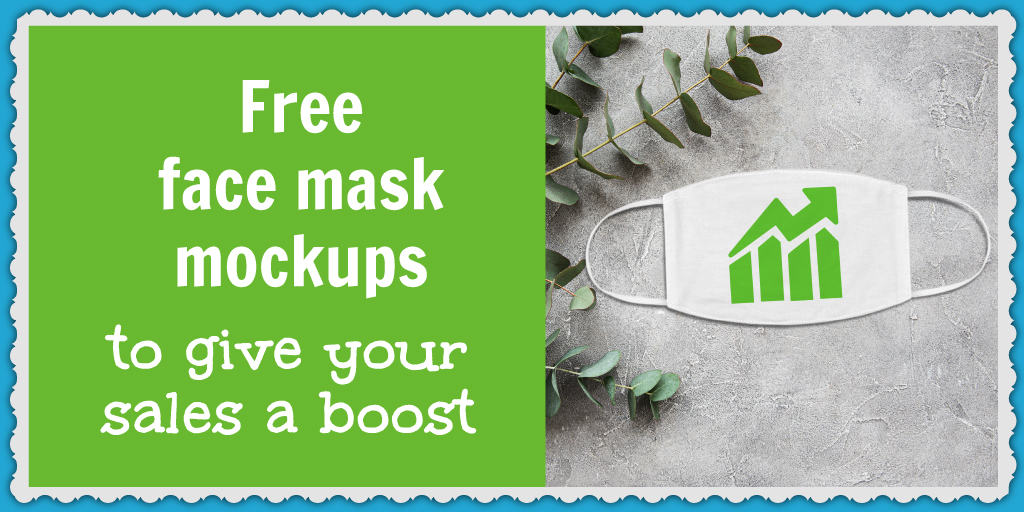 Face mask mockups to boost your ecommerce business sales